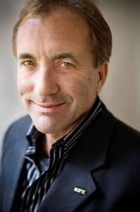 Michael Shermer. Photograph by Byrd Williams, from Wikimedia Commons