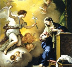 Christianity, like many religions, has long had an intimate relationship with sex, virginity, conception and family life. Paolo de Matteis – The Annunciation (1712)