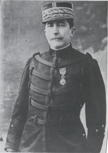 Georges Picquart (1854-1914), protagonist of Robert Harris' book, An Officer and a Spy, about the Dreyfus affair. Wikimedia commons