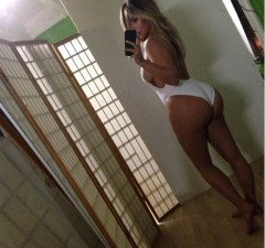 The Kim Kardashian selfie that got the Internet and Mia Freedman all animated. Source: Instagram