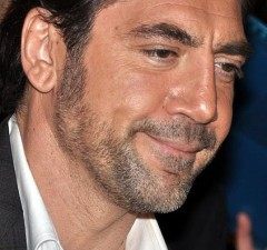 Javier Bardem's prominent cheeks, large brows and jaw give his face an exaggerated masculinity. Georges Biard, Wikimedia Commons