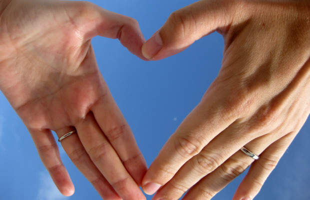 Two left hands make a heart. Source: Leon Brocard/Flickr