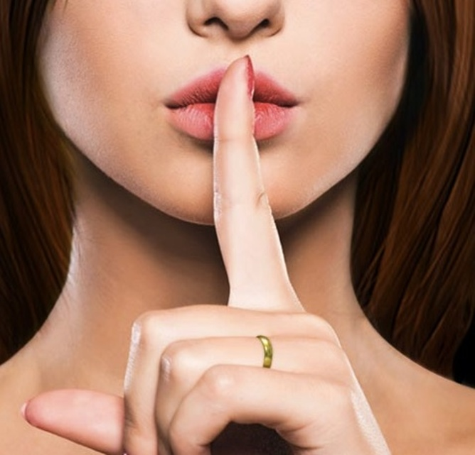 Shhhhh! Ashley Madison screenshot.